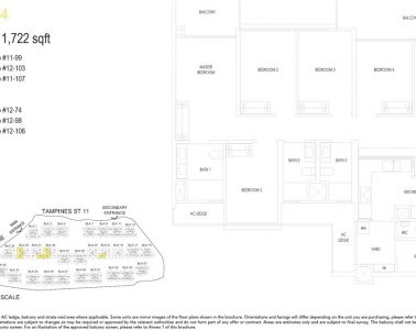 treasure-at-tampines-floor-plan-5-bedroom-type-E4